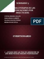 Seminario 3 de Farmacología COMPLETO