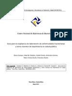 Guía de Vigilancia Basada en El Laboratorio de Enfermedades Bacterianas y Otros