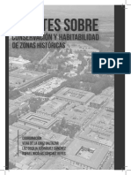 Apuntes sobre conservación y habitabilidad de zonas históricas