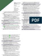 Essay Checklist - California Bar Exam