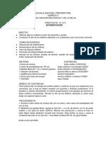 Práctica No.16 Esterificación.