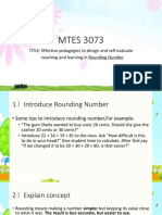 ROUNDING NUMBER