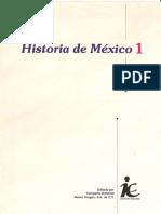 Historia de México 1 Editorial Nueva Imagen