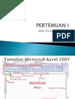 Modul Excel Dasar