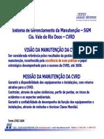 Sistema de Gerenciamento da Manutenção SGM Cia. Vale do Rio Doce CVRD.pdf