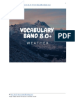Học IELTS Vocab 8.0 Weather