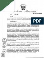 Rm 152 2013midis Focalizacion Actual