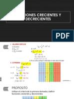 10 Funciones Crecientes y Decrecientes (1)