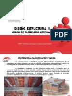 Muros Albañilería Confinada - Clase 6 - 2017-i