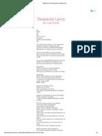 Despacito - Luis Fonsi
