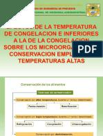 Metodos de conservacion de alimentos a altas temperaturas