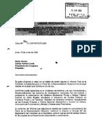 Informe Comisión Investigadora sobre Vladimiro Montesinos