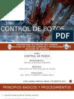 3.- Control de Pozos