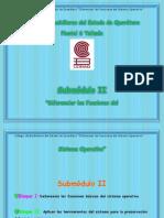Submodulo II