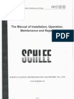 Manual Book Chiller SCHLEE
