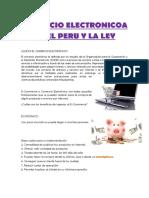 Comercio Electronicoa en El Peru y La Ley