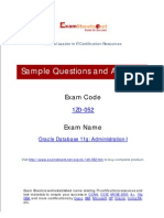 Oracle 1Z0-052 Practice Exam Preparation Quesion and Answers