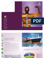 Placement Brochure of Port & Shipping 2009-10 for University of Petroleum & Energy Studies