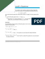 Module 6 Bernoulli Equations