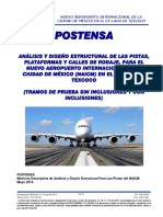 POSTENSA - Memoria Descriptiva de Analisis