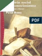 Historia social del conocimiento. De Gutenberg a Diderot.