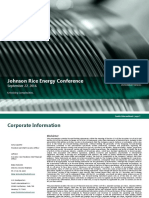 2016_09_22 Johnson Rice Energy Conference Presentation