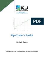 Algo Trader Toolkit