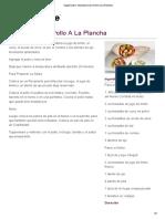 Tupperware -Shawarma de Pollo a La Plancha