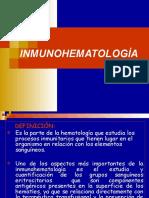 Clase III - Inmunohematología