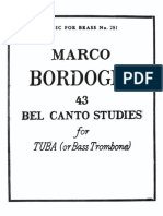 Bordogni M. - 43 Bel Canto Studies for Tuba.pdf