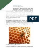 Ingredientes de los cosméticos orgánicos.docx