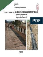 Geosinteticos en Obras Viales
