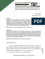 Consciência Fonológica e o Ensino Do Sistema de Escrita Alfabética