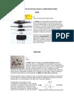 Componentes de Estado Solido o Semiconductores