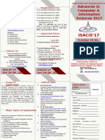 Brochure ISACIS