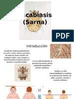 Escabiasis (Sarna)