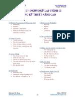 [Tài liệu lập trình C] - Chương 2 - Những Kỹ Thuật Nâng Cao.pdf