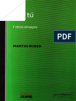 Martin Buber- Yo y Tú y otros ensayos.pdf