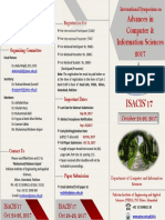 ISACIS Brochure