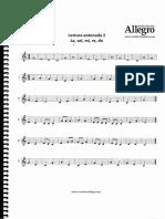 Lenguaje musical primer nivel - leccion 2 entonada