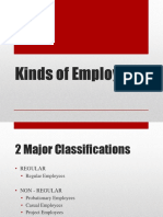 Kinds of Employees Presentation