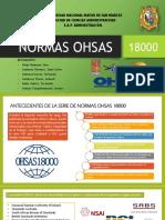 Normas OHSAS 18000