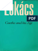[Georg Lukacs] Goethe and His Age