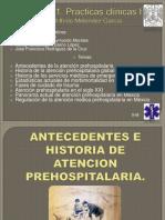 presentación de la atención prehospitalaria