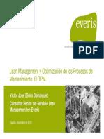 EVERIS - Lean Management y Optimización de los Procesos de Mantenimiento. El TPM..pdf