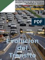 Evolución Del Transito