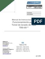 TBS ES 01 508937 Manual de Instrucciones de Funcionamiento Para TBS