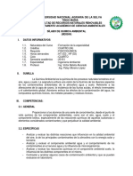 Sílabo Química Ambienta M0504 INGENIERÍA AMBIENTAL UNAS 2017-1