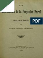 Constitución de la Propiedad Rural Magallanes