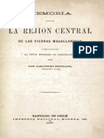 Viaje Bertrand a Magallanes Central 1884